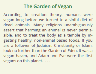 The Bible, Jesus, and Veganism << Religion and Animals << Other